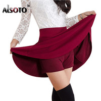 Summer style sexy Skirt Women Clothing Bottoms Korean Anti emptied lady Short Skater  mini Skirts envio gratis