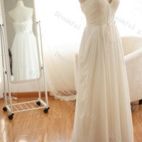 2014 new spring wedding dress sweetheart chiffon with sash pleated ,prom dress ,evening dress