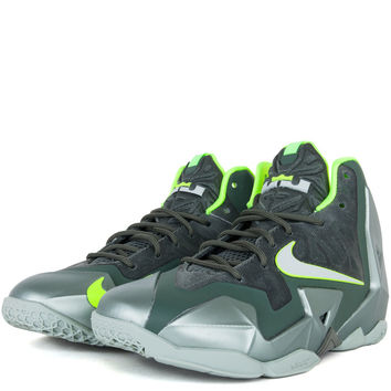 SHOES - KIDS - GRADE SCHOOL - Nike Kids Lebron XI Grade School - Dunkman Mica Green Sea Spray Dark Mica Green Volt - Buy Online at DTLR