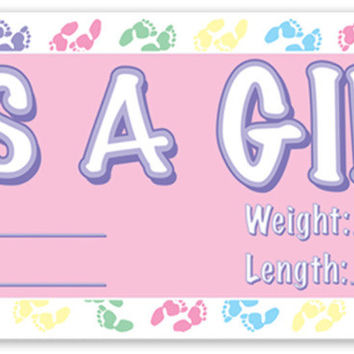 It's A Girl Sign Banner Case Pack 12