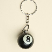 EIGHT BALL KEYCHAIN