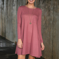 Casual Cadence Dress, Blush
