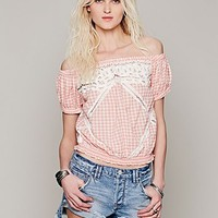 Free People Peggy Sue Crop Top