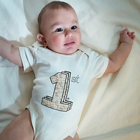 Baby's First Passover Organic Onesuit