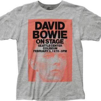 David Bowie Hear No Evil Mens T-Shirt
