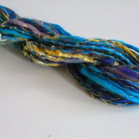 Hand Spun Art Yarn No. 1B