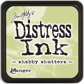 Distress Mini Ink Pad-Shabby Shutters