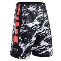 2017 New Basketball Shorts With pocket men sportswear Men training Breathable loose sports clothes Elastic sport shorts zipper