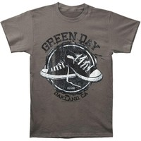 Green Day Men's  All Star T-shirt Grey