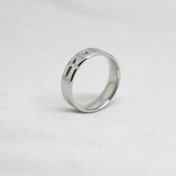 Free Engraving,silver Ring, Frosted Ring,promise ring,couple Rings, Lovers rings