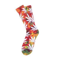 HUF - TIE DYE PLANTLIFE SOCKS SP15 // MULTI