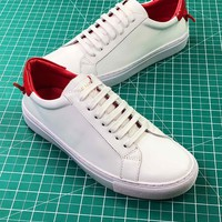 Givenchy Low-top Lace-up White Women Sneakers - Best Online Sale