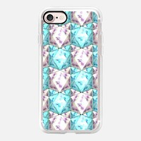 Colorful pattern of icosahedrons iPhone 7 Case by Barruf | Casetify