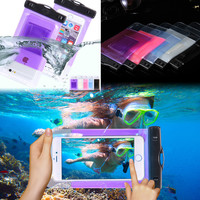 Waterproof Diving Swimming Bag Pouch Case For Samsung Galaxy S2/S5 Mini /A3/Alpha For Nokia 920 For iPhone 4S 5S 5C SE 6S Cover