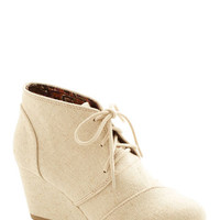 ModCloth Menswear Inspired Dune for the Day Wedge