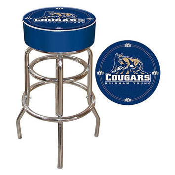 BYU Padded Bar Stool