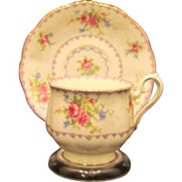 Royal Albert Petite Point Cup and Saucer