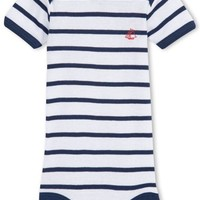 ONETOW Petit Bateau Baby Boys Striped Romper