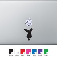Spiderman Hanging Vinyl Decal for Macbook