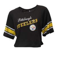 Pittsburgh Steelers Crop Tee