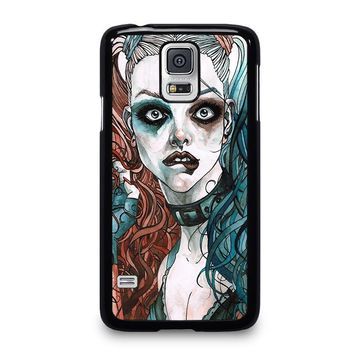 HARLEY QUINN ART Samsung Galaxy S5 Case Cover