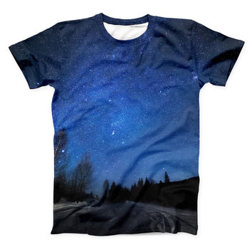 The Drive all Night ink-Fuzed Unisex All Over Full-Printed Fitted Tee Shirt