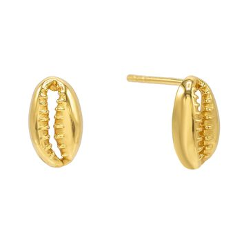 Mini Shell Stud Earring
