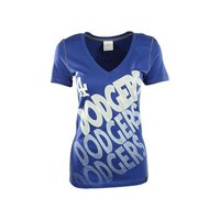 Los Angeles Dodgers MLB Women's Athletic Baby Jersey T-Shirt