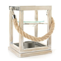 Dunes Collection Driftwood Lantern Hanging : Wax Melts Warmer : Yankee Candle