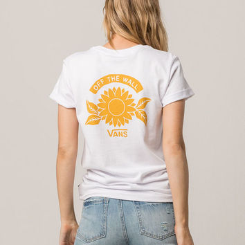 VANS Sunflower Rocker Womens Tee