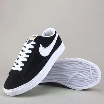 Trendsetter Wmns Nike Blazer Mid Sde Fashion Casual  Low-Top Old Skool Shoes