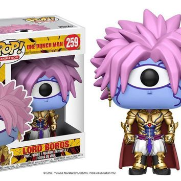 "Funko Lord Boros Pop 3.75"" Vinyl Figure One Man Punch In Stock"