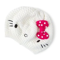 Hello Kitty Beret with Pink Polka Dot Bow  | Claire's