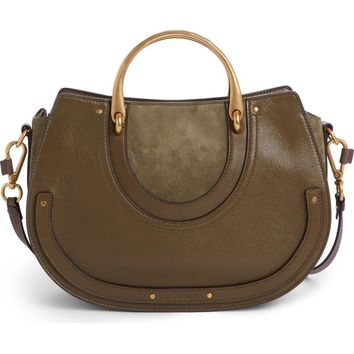 Chloé Medium Pixie Top Handle Leather Satchel | Nordstrom