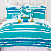 Trina Turk Bedding, Horizon Stripe Comforter and Duvet Sets - Bedding Collections - Bed & Bath - Macy's