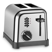 Cuisinart® 2-Slice Toaster in Brushed Stainless Steel/Black
