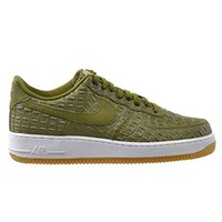 Nike Air Force 1 '07 LV8 Men's Shoes Metallic Green/Gum Light Brown 718152-301  nike air force