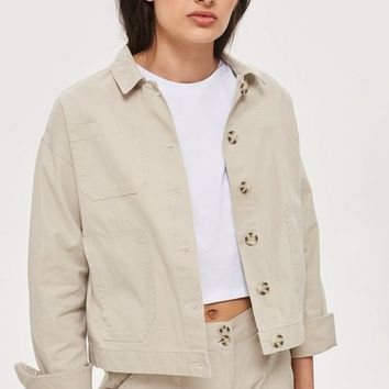 Awkward Cropped Jacket by Native Youth | Topshop
