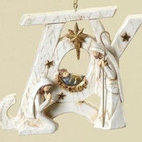 12 Christmas Ornaments - Joy