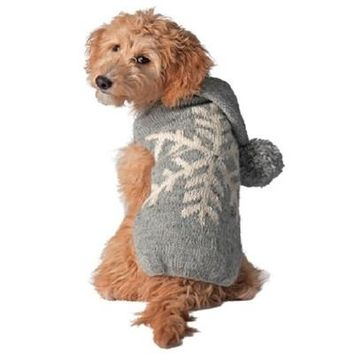 Alpaca Snowflake Sweater - Chilly Dog at Baysidebuddy.com