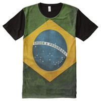 Brazil flag All-Over-Print shirt
