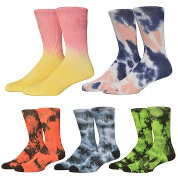 Socks Skate Sock Men Colorful Socks High-Quality Cotton Basket Sock Knee-high Funny Cycling Running Hiking Outdoor Sox