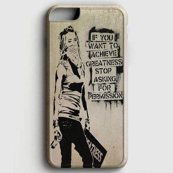 Banksy Art iPhone 7 Case