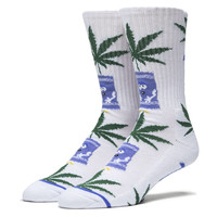 Huf: Towelie Plantlife  (South Park 420) Socks - White