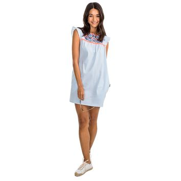 Sadie Dress in Boat Blue by Southern Tide