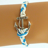 Anchor Bracelet - Bows Jewellery