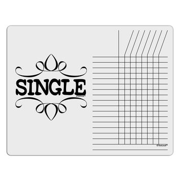 Single Chore List Grid Dry Erase Board by TooLoud