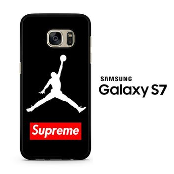 Supreme Air Jordan Samsung Galaxy S7 Case