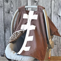 preorder football  Car Seat Cover