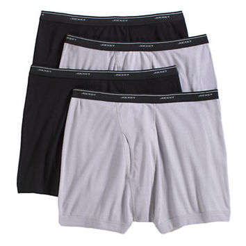 Jockey Big and Tall 4 Pack Boxer Briefs